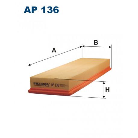 FILTRON FILTR POWIETRZA AP 136