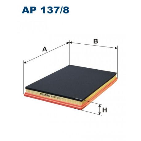FILTRON FILTR POWIETRZA AP137/8