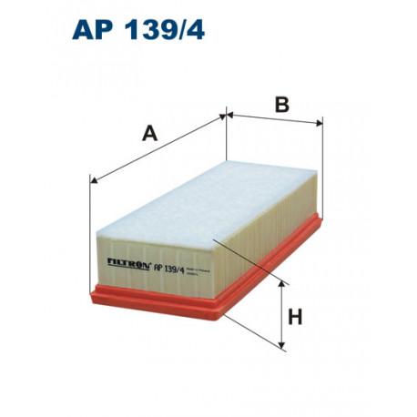 FILTRON FILTR POWIETRZA AP 139/4