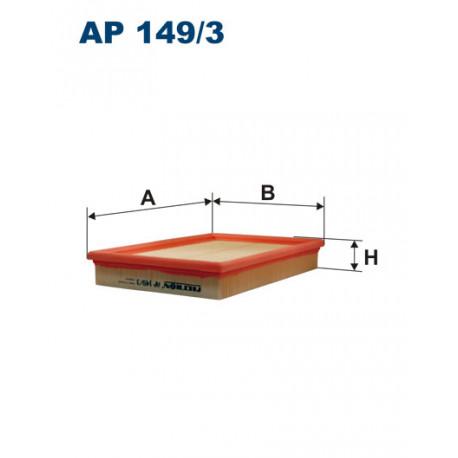 FILTRON FILTR POWIETRZA AP 149/3