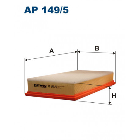 FILTRON FILTR POWIETRZA AP 149/5