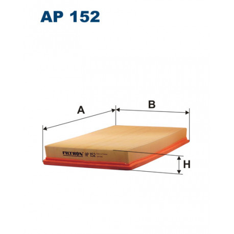 FILTRON FILTR POWIETRZA AP 152