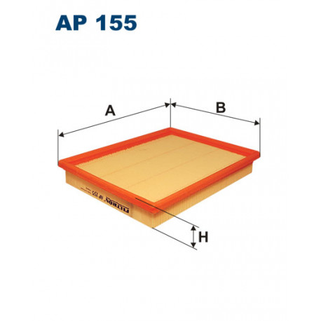 FILTRON FILTR POWIETRZA AP155
