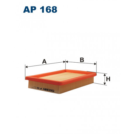 FILTRON FILTR POWIETRZA AP 168