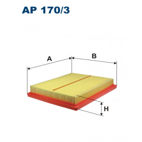 FILTRON FILTR POWIETRZA AP 170/3
