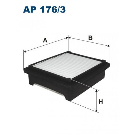 FILTRON FILTR POWIETRZA SUZUKI ALTO 1.0 AP176/3