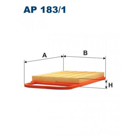 FILTRON FILTR POWIETRZA AP 183/1