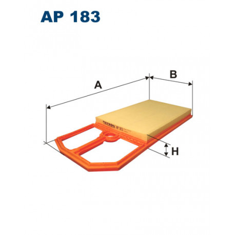 FILTRON FILTR POWIETRZA AP 183