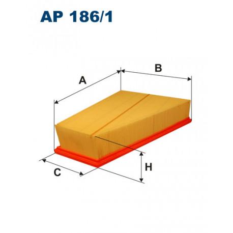 FILTRON FILTR POWIETRZA AP 186/1