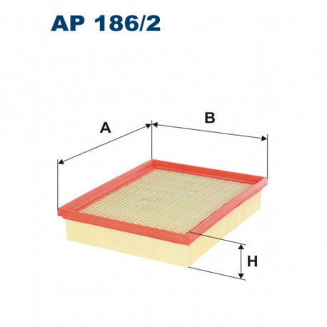 FILTRON FILTR POWIETRZA AP 186/2