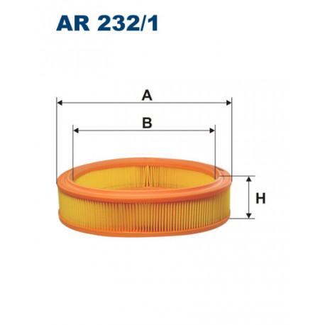 FILTRON FILTR POWIETRZA PUNTO II AR232/1