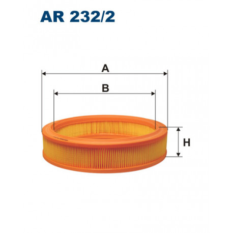 FILTRON FILTR POWIETRZA AR 232/2
