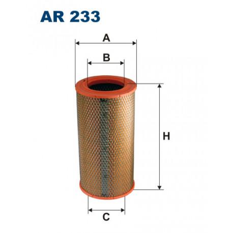 FILTRON FILTR POWIETRZA AR233