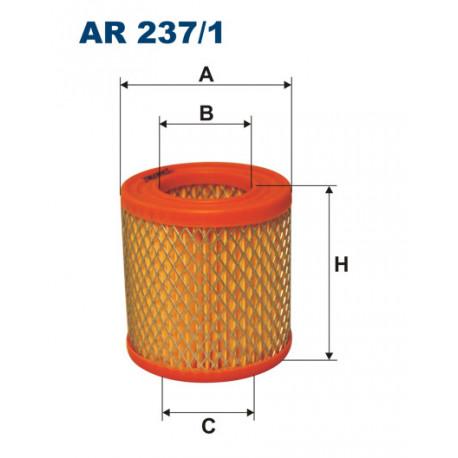 FILTRON FILTR POWIETRZA AR237/1