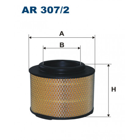 FILTRON FILTR POWIETRZA AR307/2
