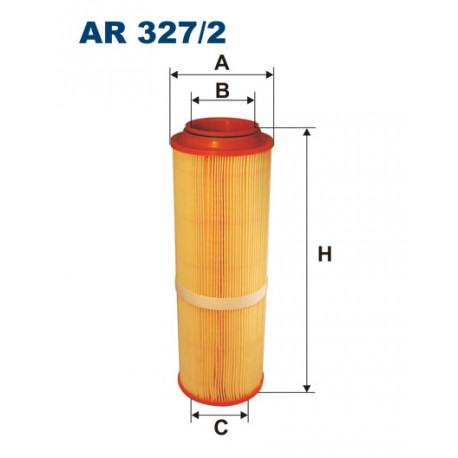 FILTRON FILTR POWIETRZA AR327/2