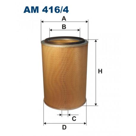 FILTRON FILTR POWIETRZA AM 416/4