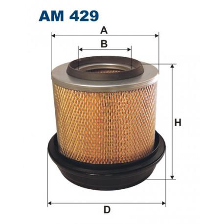 FILTRON FILTR POWIETRZA AM 429