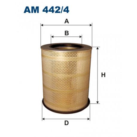 FILTRON FILTR POWIETRZA AM442/4