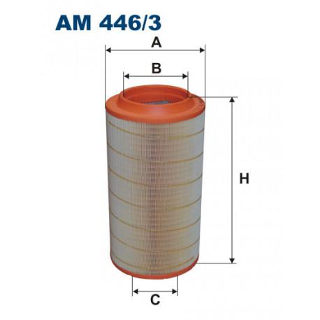 FILTRON FILTR POWIETRZA AM446/3