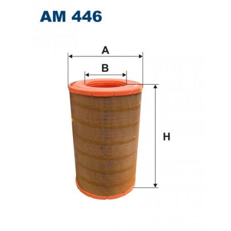 FILTRON FILTR POWIETRZA AM446