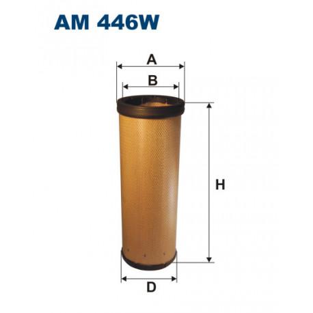 FILTRON FILTR POWIETRZA AM446W