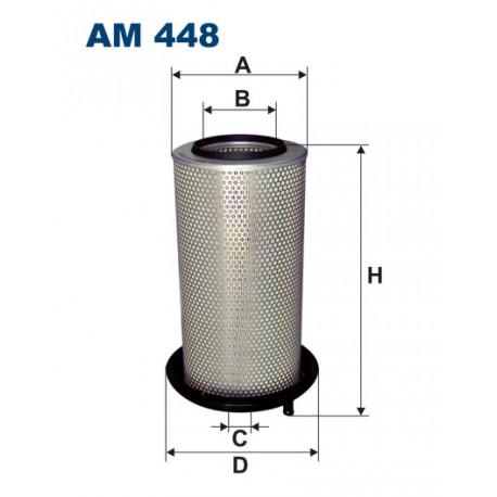 FILTRON FILTR POWIETRZA AM 448