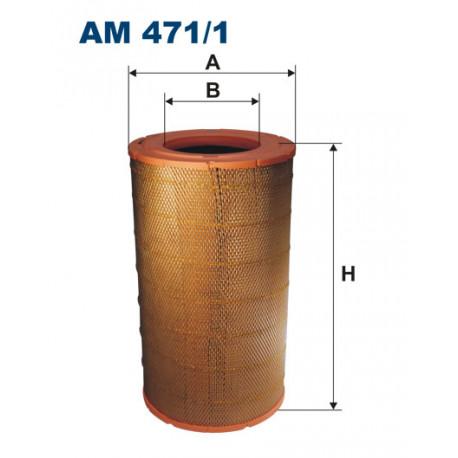 FILTRON FILTR POWIETRZA MAGNUM,MIDLUM AM471/1