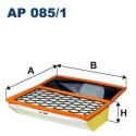 FILTRON FILTR POWIETRZA IVECO 399.5X318X75 AP085/1