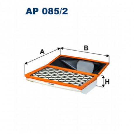 FILTRON FILTR POWIETRZA IVECO 399.5X318X61 AP085/2
