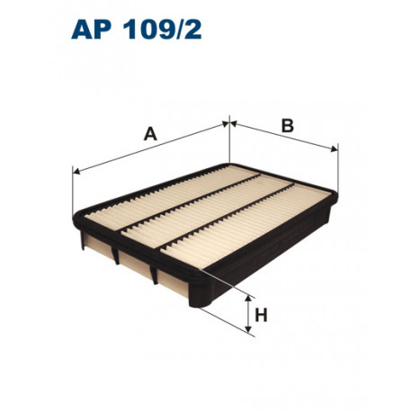 FILTRON FILTR POWIETRZA AP 109/2