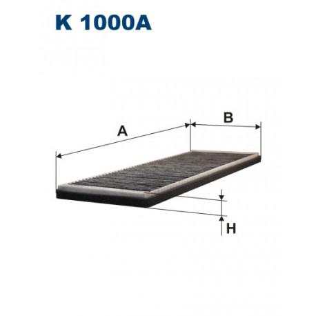 Image of FILTRON FILTR KABINY K1000A