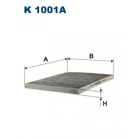Image of FILTRON FILTR KABINY K1001A