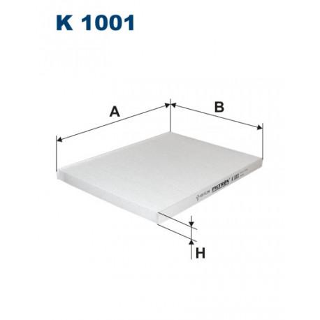 FILTRON FILTR KABINY K 1001