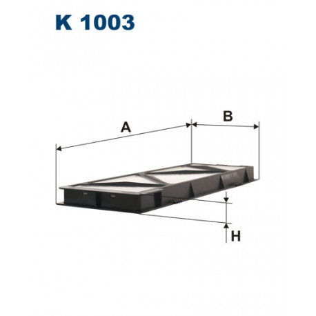 FILTRON FILTR KABINY K 1003