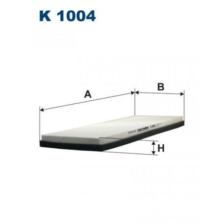 Image of FILTRON FILTR KABINY K1004