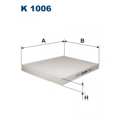 Image of FILTRON FILTR KABINY K1006