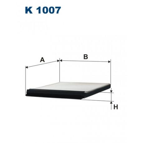 Image of FILTRON FILTR KABINY K1007