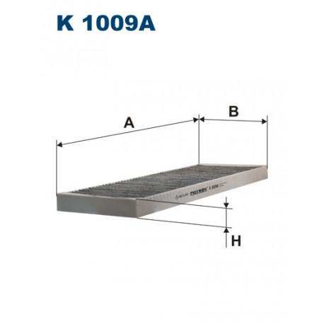 FILTRON FILTR KABINY WEGLOWY K 1009A