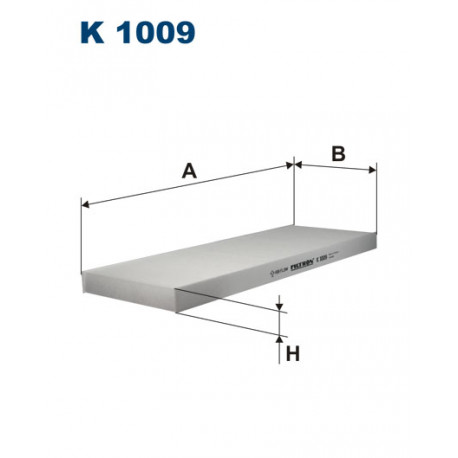 FILTRON FILTR KABINY OPEL VECTRA A,B 1.6 94-03 K1009