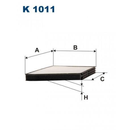 FILTRON FILTR KABINY K1011