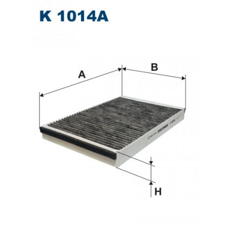 FILTRON FILTR KABINY WEGLOWY K 1014A