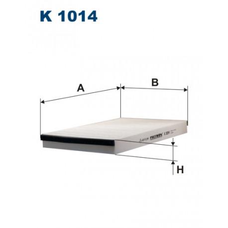 FILTRON FILTR KABINY K 1014