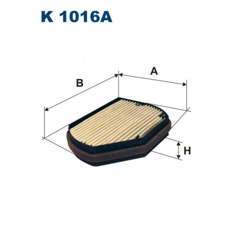 FILTRON FILTR KABINY K1016A