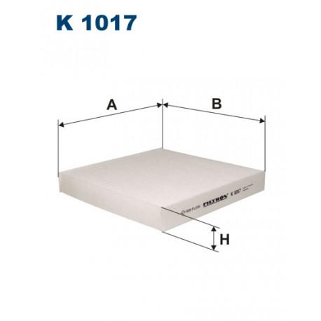 FILTRON FILTR KABINY K1017