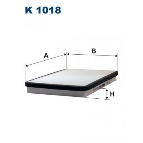 FILTRON FILTR KABINY K 1018