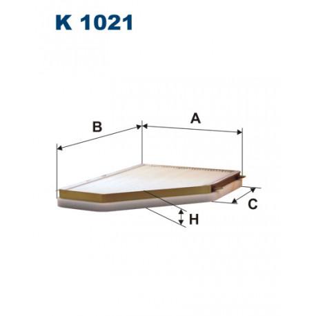 FILTRON FILTR KABINY K 1021