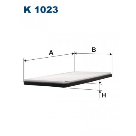 FILTRON FILTR KABINY K 1023