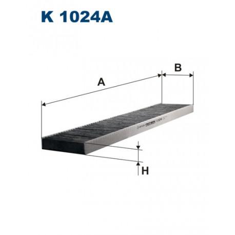 FILTRON FILTR KABINY WEGLOWY K 1024A