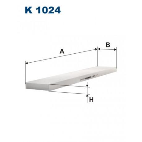 FILTRON FILTR KABINY K 1024